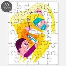 Dentist and patient Puzzle