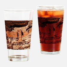 montezuma castle 2 Drinking Glass