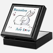 Bunny Keepsake Keepsake Box: Bunnies Are Love