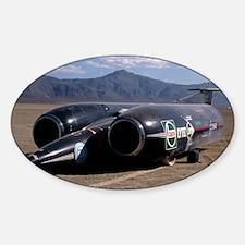 Thrust SSC, the world's first super Decal