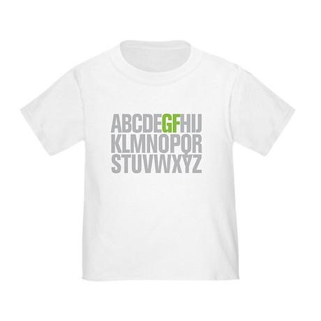 GF Alphabet Toddler T-Shirt
