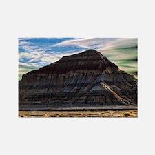 painted desert - cobalt Rectangle Magnet