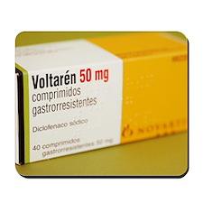 Diclofenac painkiller tablets Mousepad