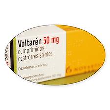 Diclofenac painkiller tablets Decal