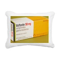 Diclofenac painkiller ta Rectangular Canvas Pillow