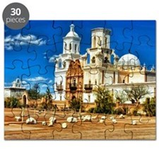 San Xavier MIssion - White Dove of the Dese Puzzle
