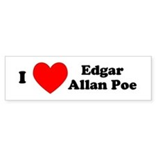 I Love Poe Bumper Bumper Sticker