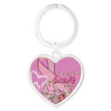 cancer 005 Heart Keychain