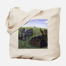 Cloudwatching puzzle Tote Bag