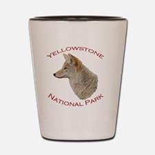 Yellowstone National Park...Coyote Shot Glass