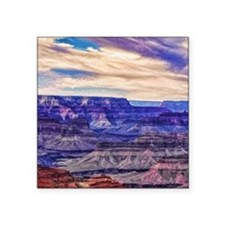 "grand canyon Square Sticker 3"" x 3"""