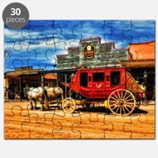 Old West Stagecoach Puzzle