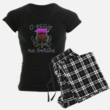 Flower of Scotland Gaelic Th Pajamas