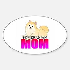 Pomeranian Mom Decal