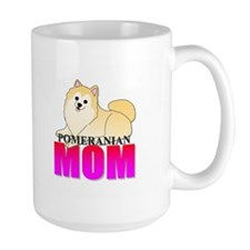 Cream Pomeranian Mom Mug