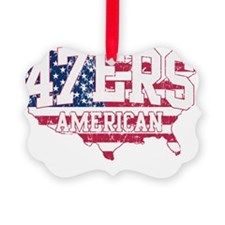 47ers American 47% Romney Speech Ornament