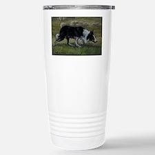 Border Collie Wiston Cap Travel Mug