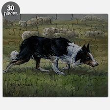 Border Collie Wiston Cap Puzzle