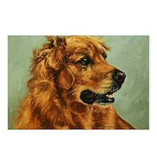 Golden Retriever Dog Postcards (Package of 8)