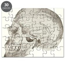 side view skull Puzzle