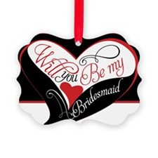 Will you be my bridesmaid Puzzle Ornament