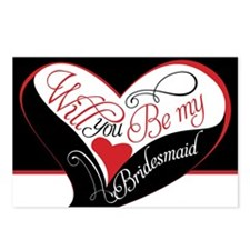 Will you be my bridesmaid Postcards (Package of 8)