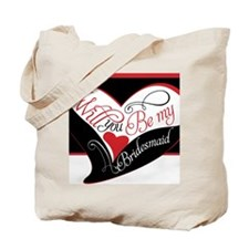 Will you be my bridesmaid Puzzle Tote Bag