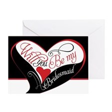 Will you be my bridesmaid Puzzle Greeting Card
