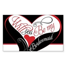 Will you be my bridesmaid Puzz Decal