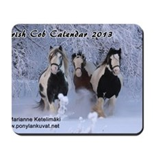 Irish Cob Calendar 2013 Mousepad