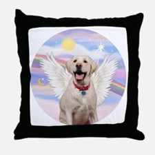 Labrador Angel (Y - Bz) Throw Pillow
