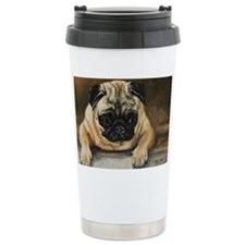 Pug Dog Travel Mug