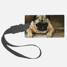 Pug Dog Luggage Tag