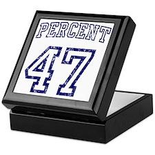 47 Percent Romney Mitt Keepsake Box