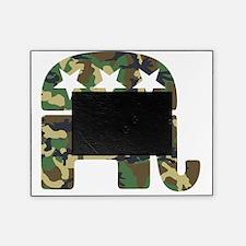 Republican Camo Elephant Picture Frame