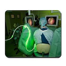 Endoscopic prostate surgery Mousepad
