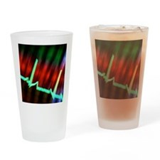 ECG Drinking Glass
