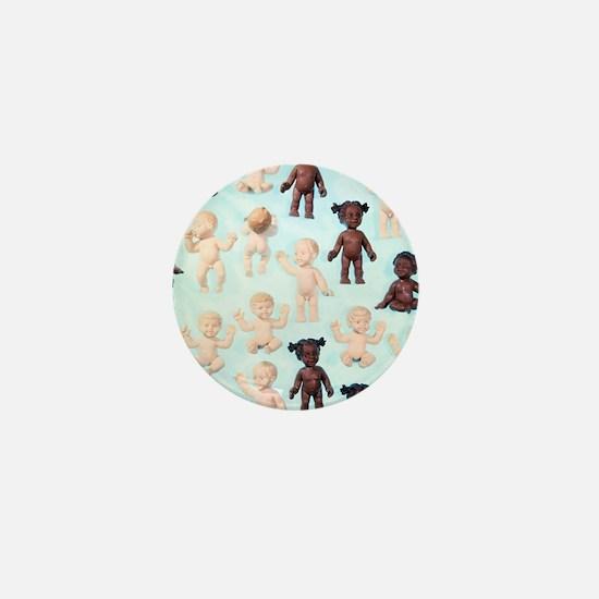 Dolls Mini Button