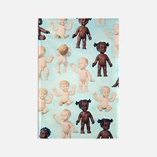 Dolls Rectangle Magnet