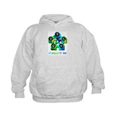 Blessed Be Yellow Green Hoodie