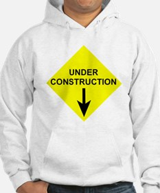 Under Construction Maternity Hoodie
