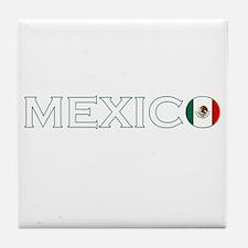 Mexico (Dark) Tile Coaster