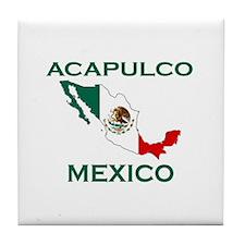 Acapulco, Mexico Tile Coaster