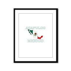 Acapulco, Mexico Framed Panel Print