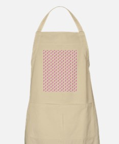 Breast Cancer Awareness Pink Ribbon Apron