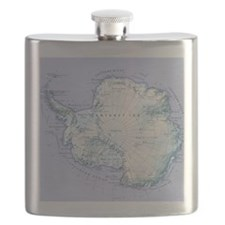Digital illustration of Antarctica Flask