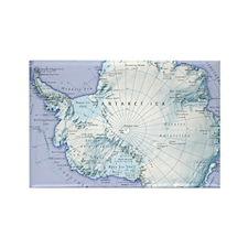 Digital illustration of Antarctic Rectangle Magnet