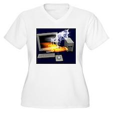 Trojan horse, com T-Shirt