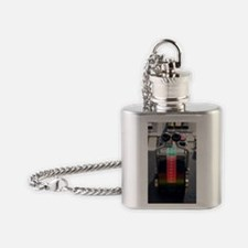 Tugboat pitch controls Flask Necklace