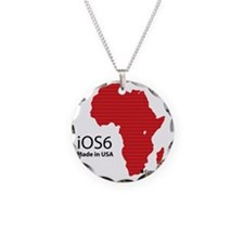 iOS6 Made in USA Necklace